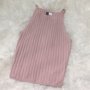 H&M Divided Wide Ribbed Soft Think Stretchy Tank